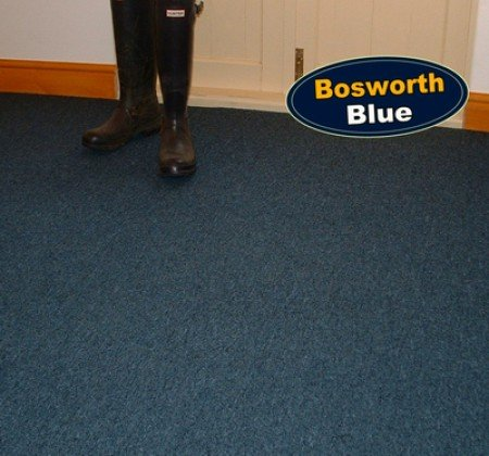Bosworth Blue Carpet Tiles