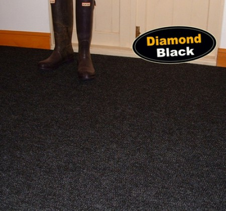 Diamond Black Carpet Tiles