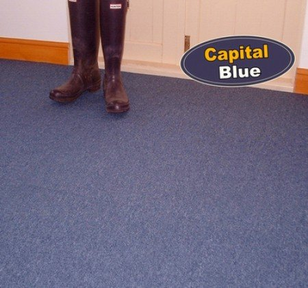 Capital Blue Carpet Tiles