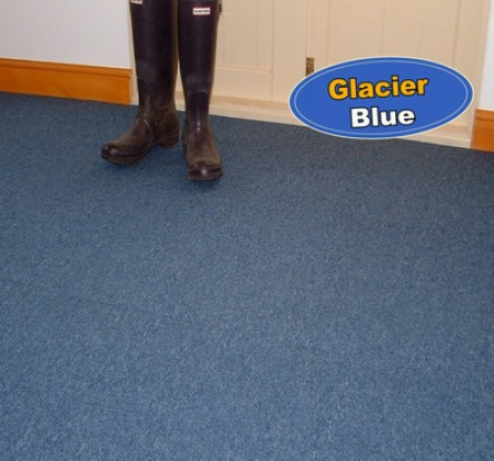 Glacier Blue Carpet Tiles