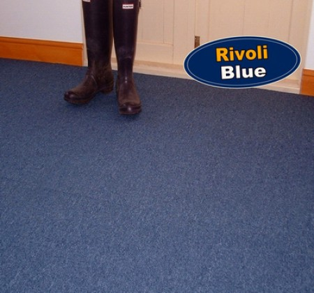 Rivoli Blue Carpet Tiles