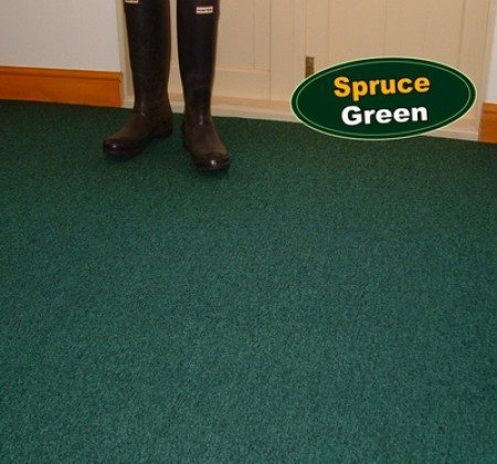 Spruce Green Carpet Tiles