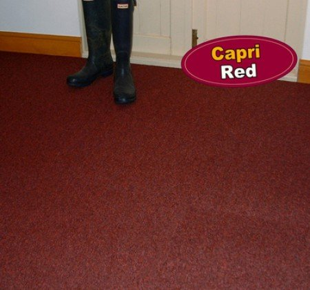 Capri Red Carpet Tile