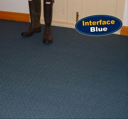 Interface Blue Carpet Tiles
