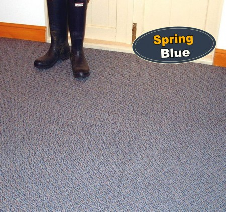 Spring Blue Carpet Tiles