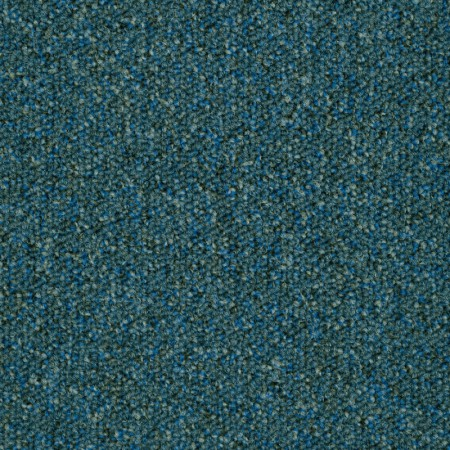 Pile close up of Bosun Blue Carpet Tiles