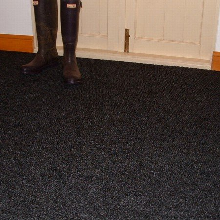 Crystal Black Carpet Tiles