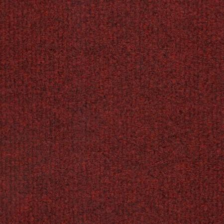 Pile close up of Nebula Red Carpet Tile