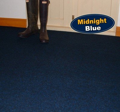 Midnight Blue Carpet Tiles