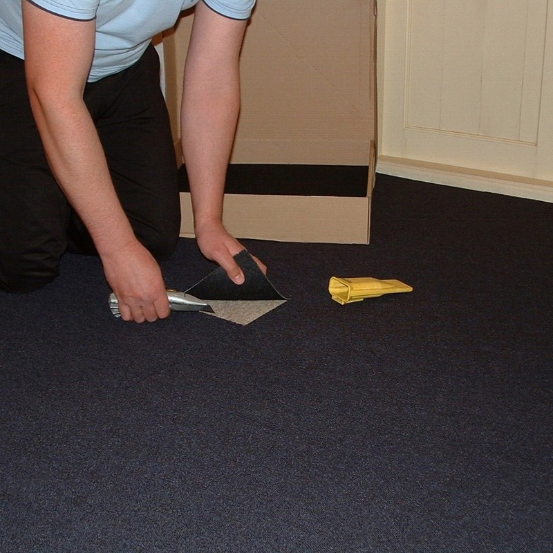 Navy Blue Carpet Tiles Are A Hard Wearing Contract Tile