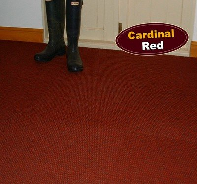 Cardinal red carpet tile ideal for high traffic areas for Best wearing carpet for high traffic areas