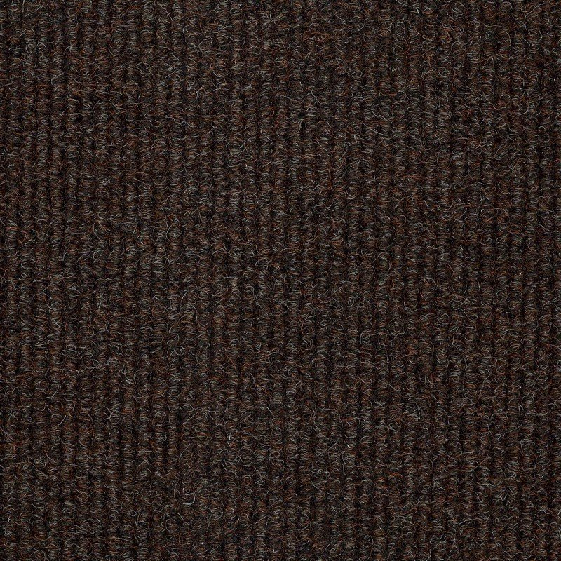 Hampton Brown Carpet Tiles Poly Broad Rib Carpet Tile