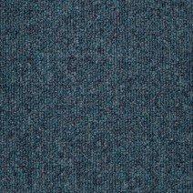 Pile close up of Azure Blue Carpet Tiles