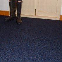 Sapphire Blue Carpet Tiles