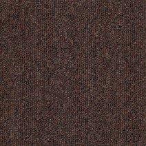 Pile close up of Clipper Brown Carpet Tiles
