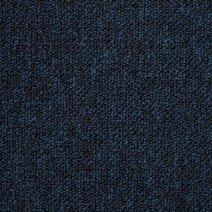 Pile close up of Trafalgar Blue Carpet Tiles