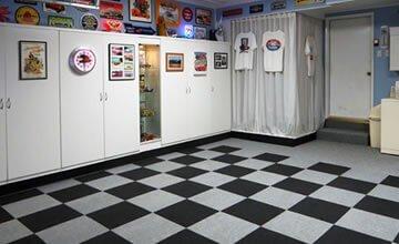 Choosing Garage Carpet Tiles Garage Carpet Tile