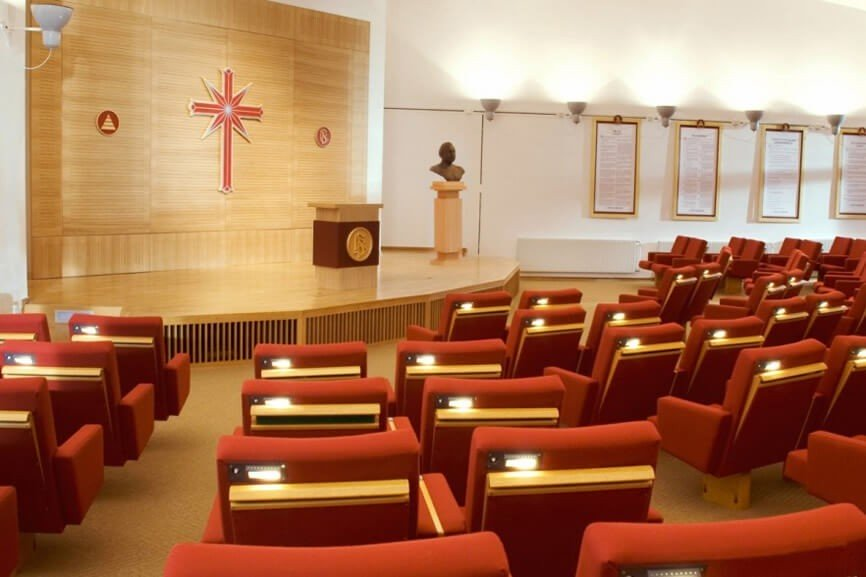 Carpet Tiles for a Meeting Room or Church