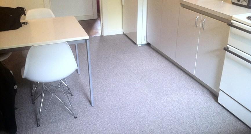 carpet tiles for kitchen