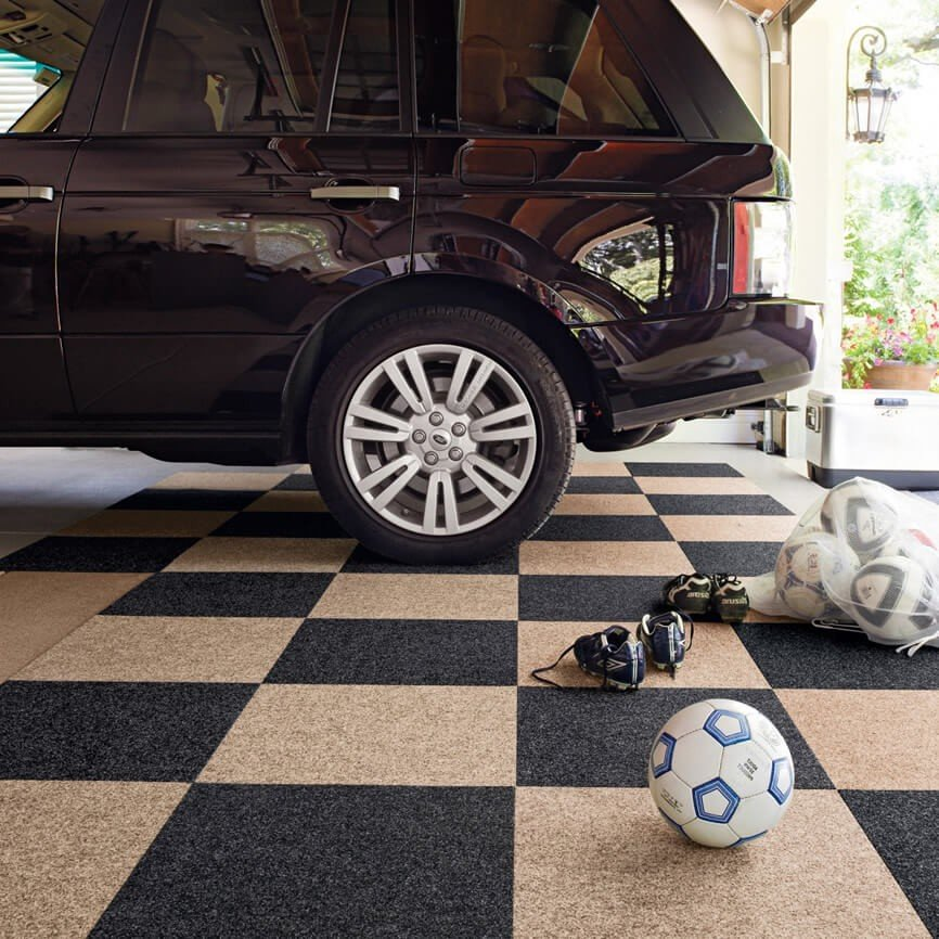 Choosing Your Garage Carpet Tiles
